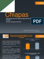 Chiapas ENOE 1er. Trimestre 2012 para CHiapas