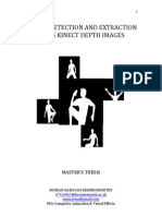 Human Detection and Extraction Using Kinect Depth Images Thesis