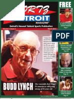 Complete March Edition of Sportz Detroit Magazine
