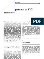 A Simple Approach to YIG Oscil