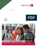 2012 Willow Glen Foundation Annual Report