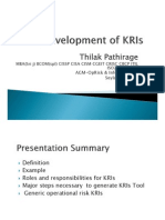KRI Development Process