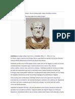 Aristóteles yulis