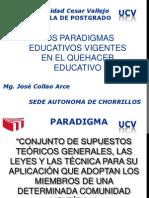 Paradigm As y Modelos Educativos