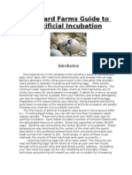 Gabbard Farms Guide to Incubation