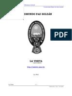 LA VISITA Edmundo Paz Soldan