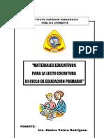 Material Educativo de Lectoescritura - 3