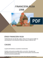 Crisis Financier A Rusa
