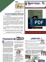 ARCHIVOS EL HERALDO PEDAGÓGICO BOLETÍN EDUCATIVO ZONA 100