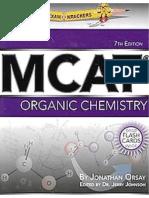 oExamKrackers MCAT Organic Chemistry Book