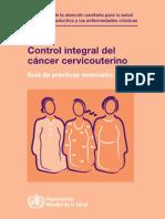 Cancer de Cervix Omsspa