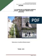 Informe 2006-2010 Cuenca Caplina - Uchusuma