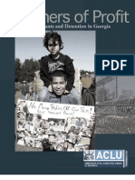The American Civil Liberties Union Foundation of Georgia Releases Report on Immigration Detention in Georgia - Prisoners of Profit