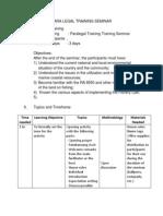 Part 1 Para Legal Training Seminar