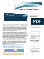 Timeline Network Recorder Datasheet