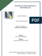 Control e Instrumentacion Practica #1