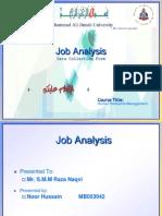 Job Anlysis Presen