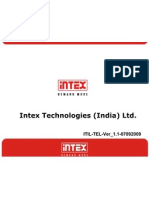 Procedure for Intex Phone Works as a Modem Ver_1.1