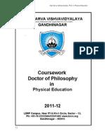 Ph D Phy Edu C Work