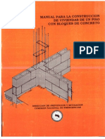 Manual Viviendas en Bloques de Concreto