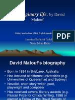 An Imaginary Life, By David Malouf
