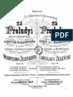25 Preludes Op. 38 (Zelenski )