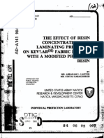 1982-The Effect of Resin Concentration and Laminating Pressures on r Fabric Bonded With a Modified Ph
