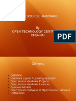 New Open Source Hardware