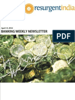 Banking Weekly Newsletter April 13 2012