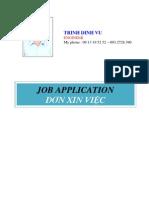 Job Application Va Resume