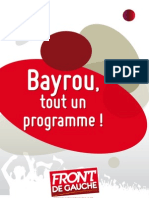 FDG Brochure Bayrou 2011