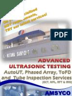 SED - AUT Brochure Advanced NDT