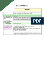 Demo HTML5 Basics