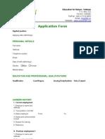 ENV Application Form Feb 22 2012