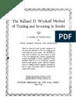 Wyckoff - Method of Tape Reading