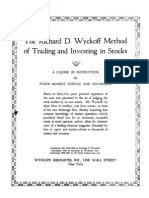 Wyckoff - Method of Tape Reading