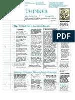 StudentNewsletterSpring_2012