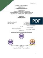 Training Report Khushbu