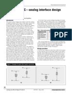 Analog Sensor Interfacing