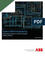 3BDS100968-510 a en System 800xA Engineering 5.1 Engineering Studio Function Designer Getting Started