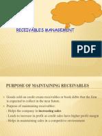 Receviables Management