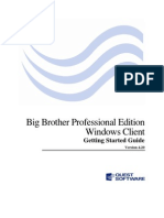 Big Brother Windows Client Getting Started Guide 420
