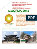 ICOOPMA2012 Announcement