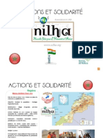 Actions et solidarité 2011 Nilha