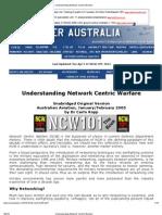 Understanding Network Centric Warfare
