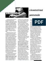 Art12 Jacques Derida Si Deconstructivismul Poststructuralist