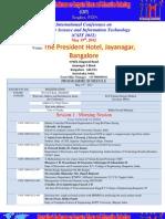 PROGRAMMESCHDULE_ICCSIT_Bangalore