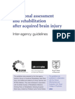213. 'Vocational assessment and rehabilitation after acquired brain injury.' - Raymond Paget.