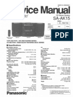 Panasonic SA AK15