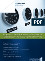 Informator 2012 - Program MBA - Wydział Zamiejscowy w Chorzowie Wyższej Szkoły Bankowej w Poznaniu